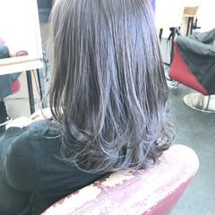 透明感カラー イルミナカラー 圧倒的透明感 ナチュラル ヘアスタイルや髪型の写真・画像