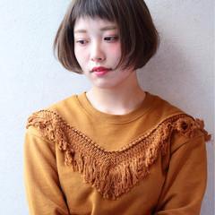 ストリート パーマ 前髪あり フェミニン ヘアスタイルや髪型の写真・画像