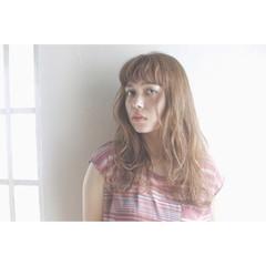 前髪あり ヘアアレンジ ナチュラル 夏 ヘアスタイルや髪型の写真・画像