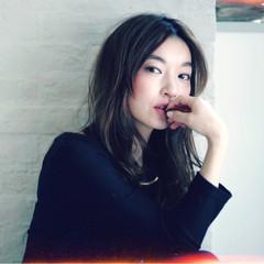 フェミニン コンサバ ニュアンス ロング ヘアスタイルや髪型の写真・画像