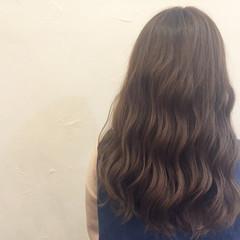 外国人風 ハイライト アッシュ ブラウン ヘアスタイルや髪型の写真・画像