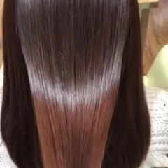 アディクシーカラー ナチュラル サラサラ うる艶カラー ヘアスタイルや髪型の写真・画像