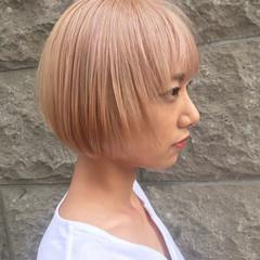 韓国 デート ボブ 韓国ヘア ヘアスタイルや髪型の写真・画像