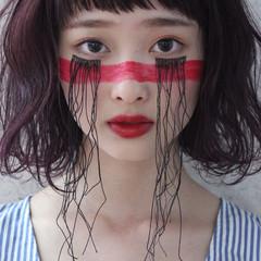 外国人風 ヘアアレンジ ボブ ゆるふわ ヘアスタイルや髪型の写真・画像