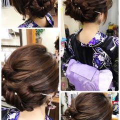 ヘアアレンジ ロング 色気 フェミニン ヘアスタイルや髪型の写真・画像