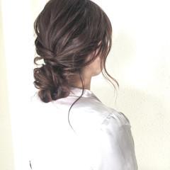 簡単ヘアアレンジ ヘアアレンジ 結婚式 ショート ヘアスタイルや髪型の写真・画像