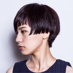 モード 個性的 暗髪 かっこいい ヘアスタイルや髪型の写真・画像