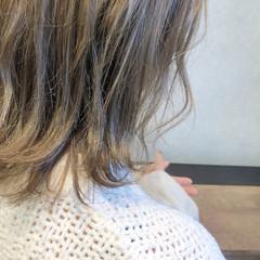 アンニュイほつれヘア 冬 抜け感 ストリート ヘアスタイルや髪型の写真・画像