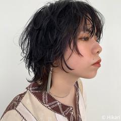 ショートヘア マッシュショート ショート ウルフカット ヘアスタイルや髪型の写真・画像