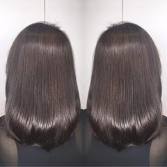 アウトドア リラックス 秋 アッシュ ヘアスタイルや髪型の写真・画像