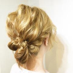 大人かわいい ポニーテール 夏 ヘアアレンジ ヘアスタイルや髪型の写真・画像