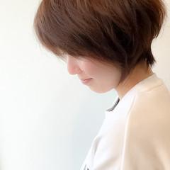 デート ゆるナチュラル ショート ショートヘア ヘアスタイルや髪型の写真・画像