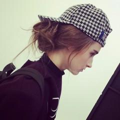 編み込み ストリート ヘアメイク 大人かわいい ヘアスタイルや髪型の写真・画像