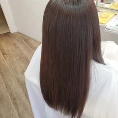 ロング 縮毛矯正ストカール ストカール 縮毛矯正 ヘアスタイルや髪型の写真・画像