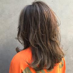 透明感カラー 透け感ヘア 3Dハイライト ナチュラル ヘアスタイルや髪型の写真・画像