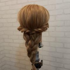 ヘアアレンジ ロング ショート ゆるふわ ヘアスタイルや髪型の写真・画像