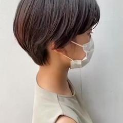 マッシュショート ショートヘア マッシュ ショート ヘアスタイルや髪型の写真・画像