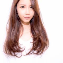 ロング フェミニン 大人かわいい コンサバ ヘアスタイルや髪型の写真・画像