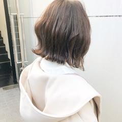 アンニュイほつれヘア ボブ パーマ 簡単ヘアアレンジ ヘアスタイルや髪型の写真・画像