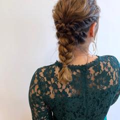 簡単ヘアアレンジ ヘアセット ヘアアレンジ エレガント ヘアスタイルや髪型の写真・画像