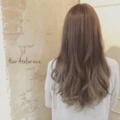 外国人風 ロング マルサラ グラデーションカラー ヘアスタイルや髪型の写真・画像