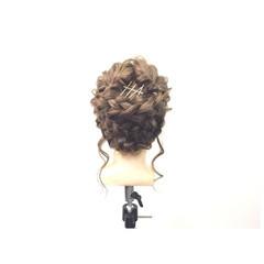 ヘアピン ショート ヘアアクセ ヘアアレンジ ヘアスタイルや髪型の写真・画像