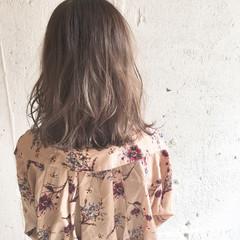 外国人風 ラフ ハイライト 大人かわいい ヘアスタイルや髪型の写真・画像