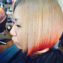 色気 ヘアアレンジ ショート ボブ ヘアスタイルや髪型の写真・画像