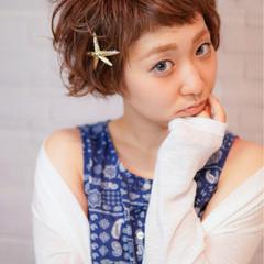 ショート ベリーショート ショートバング 外国人風 ヘアスタイルや髪型の写真・画像