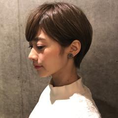 ナチュラル ショート 女子力 ヘアスタイルや髪型の写真・画像