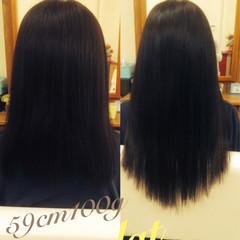 ナチュラル 黒髪 ミディアム 学校 ヘアスタイルや髪型の写真・画像