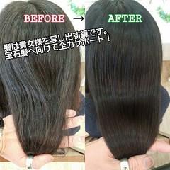 名古屋市守山区 トリートメント 髪の病院 ナチュラル ヘアスタイルや髪型の写真・画像