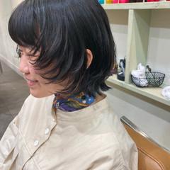ウルフ女子 モード マッシュウルフ ニュアンスウルフ ヘアスタイルや髪型の写真・画像
