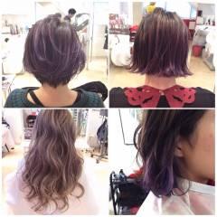ストリート ガーリー 黒髪 アッシュ ヘアスタイルや髪型の写真・画像