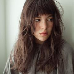 外国人風 簡単 ゆるふわ ロング ヘアスタイルや髪型の写真・画像
