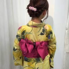 大人かわいい ヘアアレンジ 春 ナチュラル ヘアスタイルや髪型の写真・画像