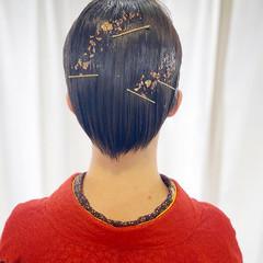 成人式ヘア 成人式 ヘアアレンジ ショートヘア ヘアスタイルや髪型の写真・画像