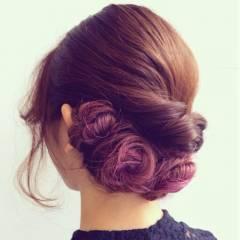 グラデーションカラー ピンク ヘアスタイルや髪型の写真・画像