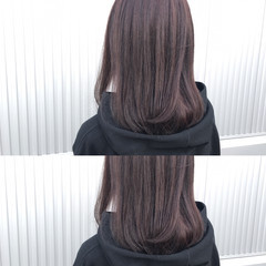 レッド ローズ ナチュラル ピンク ヘアスタイルや髪型の写真・画像
