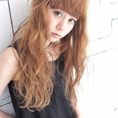 アッシュ 外国人風カラー ロング 外国人風 ヘアスタイルや髪型の写真・画像