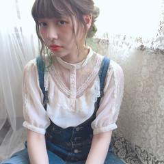 外国人風 ピュア ショート ガーリー ヘアスタイルや髪型の写真・画像