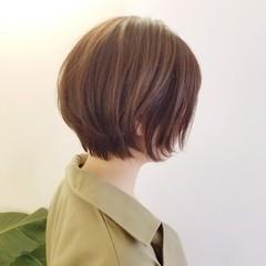ショート ショートヘア ナチュラル 大人ショート ヘアスタイルや髪型の写真・画像