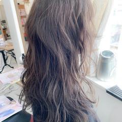 ショコラブラウン オフィス 透明感カラー デート ヘアスタイルや髪型の写真・画像