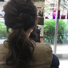 ショート ポニーテール ヘアアレンジ 簡単 ヘアスタイルや髪型の写真・画像