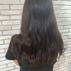 パーマ 韓国ヘア デジタルパーマ ナチュラル ヘアスタイルや髪型の写真・画像