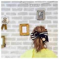 ミディアム ヘアアレンジ ショート ナチュラル ヘアスタイルや髪型の写真・画像