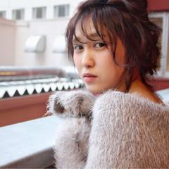大人女子 外国人風 ミディアム 大人かわいい ヘアスタイルや髪型の写真・画像