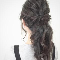 ショート ロング 夏 ヘアアレンジ ヘアスタイルや髪型の写真・画像