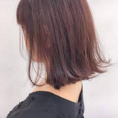 透明感 ピンク 大人女子 ガーリー ヘアスタイルや髪型の写真・画像