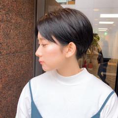 ショートヘア ショート ハンサムショート マッシュショート ヘアスタイルや髪型の写真・画像